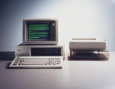 1. PC 5150 r. 1981